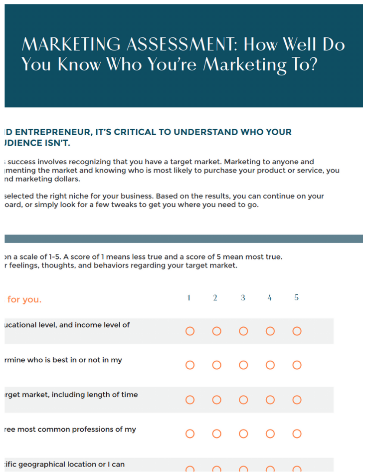 Survey-How Well Do You Know Marketing copy