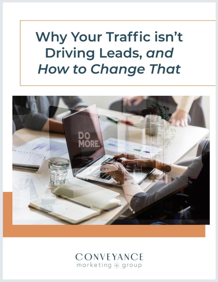 Ebook Thumb - Traffic isnt driving Leads copy